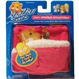 Zhu Zhu Pet Bed and Blanket